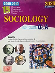 15 Years Topicwise Solutions of Previous Years' Papers (2002-2019) Sociology IAS MAINS