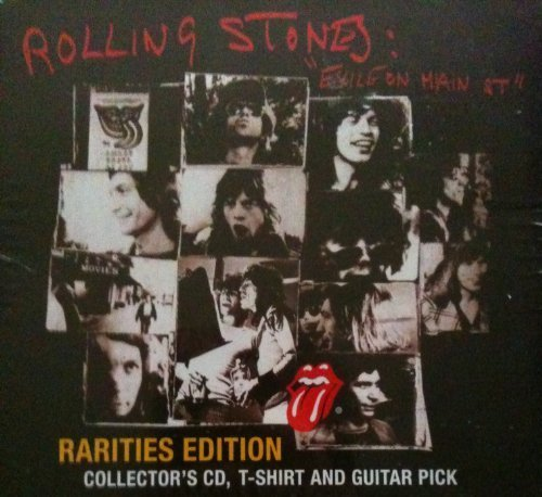 Exile On Main Street Rarities Edition Includes Collector's CD, T-shirt and Guitar Pick by Mick Jagger (2010-05-04)