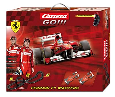 Carrera - GO 143: Ferrari F1 Masters (Ferrari Alonso y Massa) 5.4 metros, escala 1:43 (20062280) de Carrera