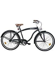 CICLI CLORIA MILANO Bicicleta Loreto Negro