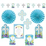 kit decorating first communion blue
