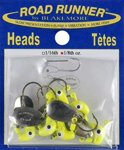 road-runner-chartreuse-heads-lure-6-pack-1-8-ounce-slow-presentation-flash