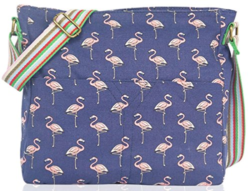 Kukubird Flamingo Tela Borsa A Tracolla Con Il Sacchetto Di Polvere Di Kukubird Navy Dónde Comprar Bajo Precio Venta Barata Populares Sast Línea Barata Visitar La Venta En Línea 5IrXOLJ