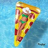 Oficiales 'Piscinas' Perfect Inflable Gigante Rebanada de Pizza del Flotador | Flotador de la Piscina 178cm