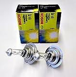 2x BOSCH Longlife H7 55W HALOGEN LAMPE 1987302078...