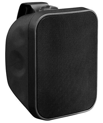 """Pronomic OLS-5 BK DJ PA Outdoor-Lautsprecher für Garten, Terrasse, Restaurant (120 Watt, Schutzart IP56, 8 Ohm, 5,25"""" Woofer) schwarz"""