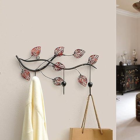 Wangjialin-creativas de decoración del hogar bastidores de pared gancho de la pared de la cocina y baño necesaria objetos-w603