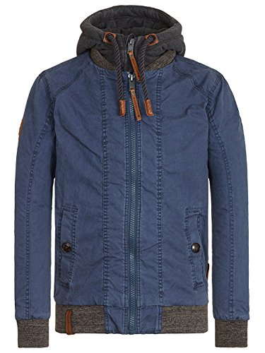 Naketano Male Jacket Pimmels in Space II Dark Blue