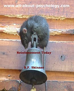 Reinforcement Today by [Skinner, B.F]