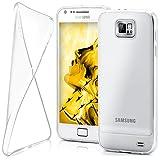 moex Samsung Galaxy S2 | Hülle Silikon Transparent Klar Clear Back-Cover TPU Schutzhülle Dünn Handyhülle für Samsung Galaxy S2 / S2 Plus SII Case Ultra-Slim Silikonhülle Rückseite