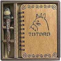 TL Bloc-Notes Rétro Totoro en Bois pour Votre Bullet Journal Notebook  Journals Diary Sketchbook 94401d495a9