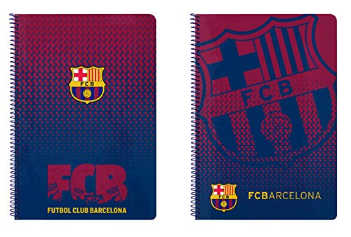FC Barcelona 2018 Taschenorganizer, 31 cm, Mehrfarbig (Blau y grana)