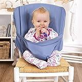 Hochstuhl baby | tragbarer Stuhl-Sitzgurt | Hochstühle für Essen und Feiertagen | Bequeme und nicht zu besetzen Raum | Kindersitz Für Unterwegs | Passt in die Tasche | Eine zufällige Farbe senden