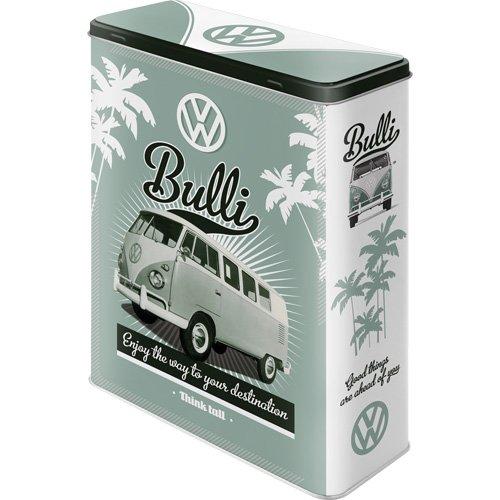Nostalgic-Art 30315 Volkswagen - VW Retro Bulli, Vorratsdose XL