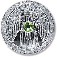 Glücksmünze Schutzengel Engeltaler Erzengel Raphael, Ø 27 mm Taler Silber mit Swarovski Elements, Glücksbringer... preisvergleich bei billige-tabletten.eu