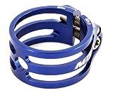 MSC Bikes 0843604152264 Cierre tija de sillín, Unisex Adulto, Azul anodizado, 24/26Nº PIE