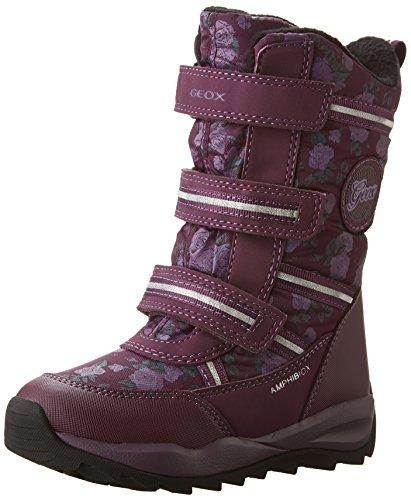 Geox J Orizont B Abx B, Bottes de Neige Fille Violett (DK PURPLEC8016)