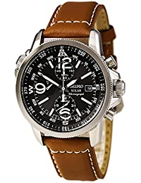 Seiko Men's Chronograph Quartz Watch with Stainless Steel Strap – SSC081P1