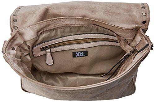 XTI - 85959, Borse Messenger Donna Beige