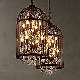 Y & M-Kronleuchter Kristall/Licht/Lampe/Käfig-Beleuchtung Kronleuchter/Deckenleuchte rust