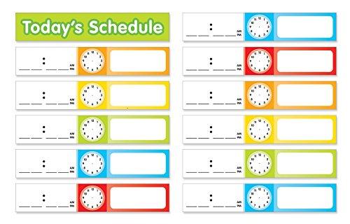 Scholastic Teacher 's Friend Schedule Karten Tasche Diagramm Add-Ons, mehrere Farben-Diagramm nicht im Lieferumfang enthalten (tf5405) - Mehrere Karten Taschen
