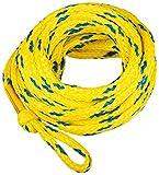 MESLE Schleppleine 6P 60', schwimmend, f. 6-Personen Towables, gelb-blau, 18,3 m