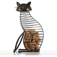 Casavidas Tooarts Barware - Recipiente de corcho para gatos, accesorios de hierro, manualidades,
