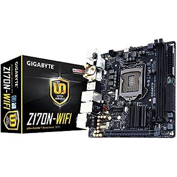 Gigabyte GA-Z170N-WIFI Scheda Madre Intel Z170 i7/i5/i3/Celeron/Pentium, 2xDDR4