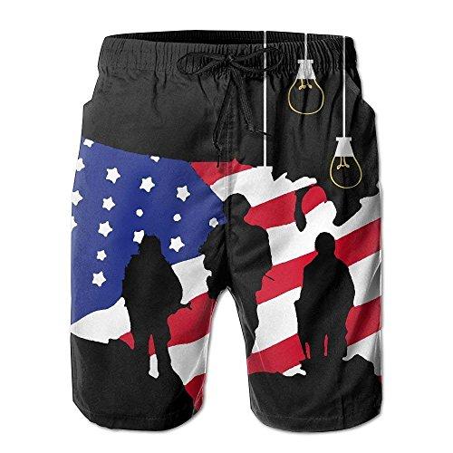 saletopk Die Stämme der patriotischen Soldaten-amerikanische Flaggen-Männer