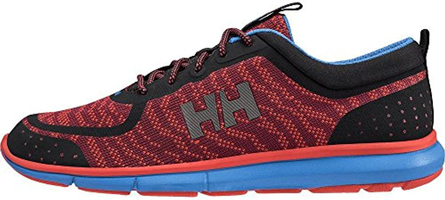 Helly Hansen Hp Shoreline F-1, Mocasines para Hombre, Multicolor (Plum/Grenadine/Black/655), 40 EU