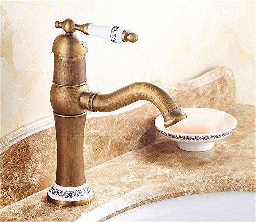 Gyps faucet cascata per rubinetto acqua fredda e calda rubinetto bagno antique acqua calda e acqua fredda mobiletto del bagno vasca a ruotare il bacino di antiquariato rubinetto,, desgin moderno r