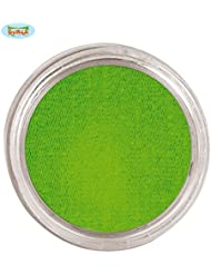 Fiestas Guirca 15576, Trucco ad Acqua Color Verde Lime vasetto da 15 Grammi, Taglia Unica