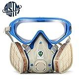 [ASTM]SanSiDo Masque de protection respiratoire complète contre peinture chimique, gaz, poussière, pesticides, incendies - Best Reviews Guide