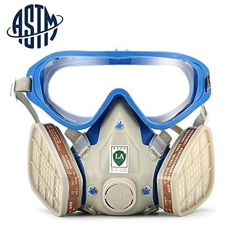 Lunettes Essence - [ASTM]SanSiDo Masque de protection respiratoire complète contre
