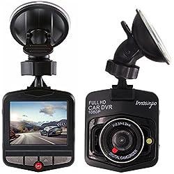 Cámara De Coche Full HD 1080P Dash Cam Gran Ángulo Dashcam , G-sensor,con sensor G de alta sensibilidad, detección de movimiento, monitor de estacionamiento, grabación de bucle, ángulo amplio 140 °