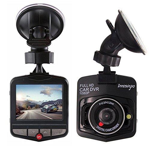 Dvr-auto (Auto Kamera, Innosinpo Mini FHD 1080p Dashcam Auto DVR Kamera Dashcamera Recorder mit 140° Weitwinkelobjektiv G-Sensor Parkplatz Monitor Bewegungserkennung Loop Aufnahme Schwarz)