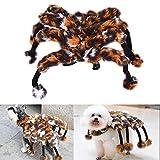Zaote Lustige Haustier Hund Spinne Verklärung Kostüm Haustier Halloween Kleidung Fancy Dress