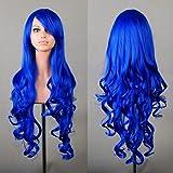 "ToJoy 32"" 80cm Long Hair Heat Resistant Spiral Curly Cosplay Wig"
