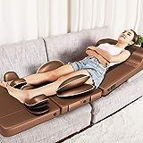 WEII Massagekissen Elektrische Massagematratze Multifunktionskörperheizung Massagegerät Elektrischer Gesundheitsmassager