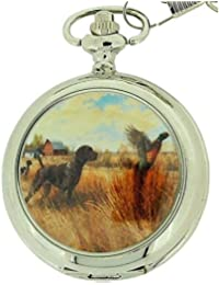 Boxx m5061.06hunting – Pocket watch metal strap, silver