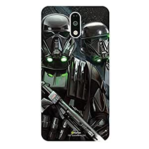 Hamee Official Star Wars Rogue One Licensed Slim Fit Hard Back Case Cover for Lenovo Vibe k5 Note Death Troopers 11