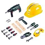 YAHAMA 20 Teilig Reparatur Kinder Handwerker Geschenke Kinder Werkzeug Spielzeug ab 3