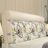 QiangDa Bett Kissen Sofa Rückenlehne Stützkissen Taille Rest Flanell für Einzelne Doppelbett Abriebfestigkeit, 3 Farben, 6 Größen Optional (Farbe : 3#, Größe : 160 x 12 x 60cm)
