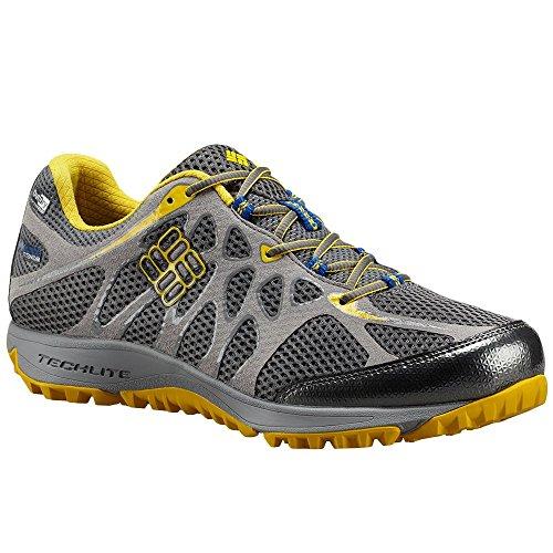 Columbia Conspiracy Titanium Outdry, Chaussures de Running Compétition homme Multicolore - Multicolor (Charcoal/Azul)
