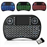 Protokart Mini Wireless Full Functional Keyboard with trackpad touchpad, 3 Colour RGB Backlight