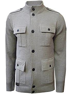 Dissident - Cárdigan - suéter - Manga Larga - para hombre