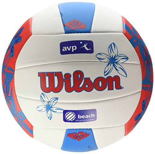 Wilson Volleyball, Outdoor, Freizeitspieler, AVP Hawaii, Rot/Blau