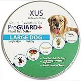 WeiLi Collare Antiparassitario per Cani di Taglia Grande contro Pulci e Zecche,63 cm