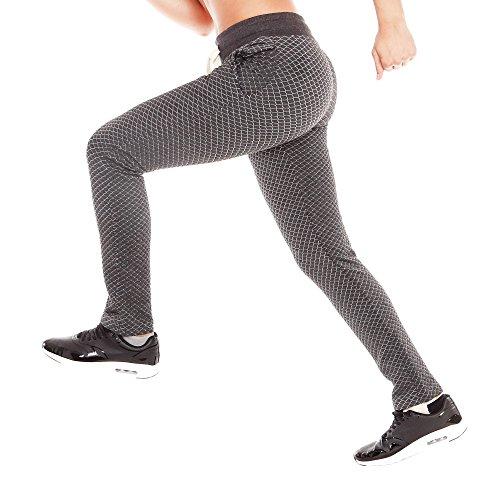 SMILODOX Jogginghose Damen | Trainingshose für Sport Fitness Gym Training & Freizeit | Sporthose - Jogger Pants - Sweatpants Hosen - Freizeithose Lang Anthrazit