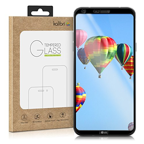 kalibri-Echtglas-Displayschutz-fr-LG-Q6-3D-Schutzglas-Full-Cover-Screen-Protector-mit-Rahmen-Glas-Folie-auch-fr-gewlbtes-Display-in-Schwarz